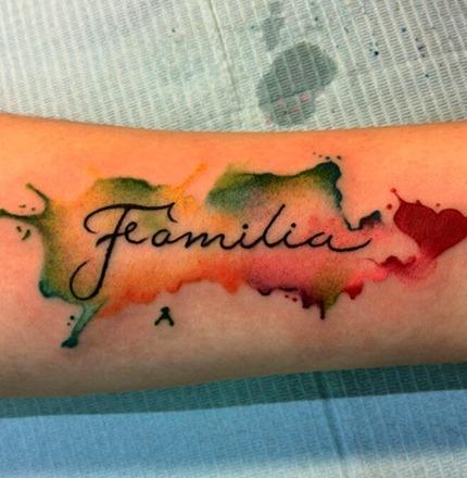 Tatuajes de frases sobre la familia