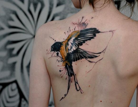 54 Ideas De Tatuajes De Pajaros De Hombre Mujer Significado