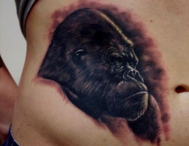 Tatuajes de gorilas