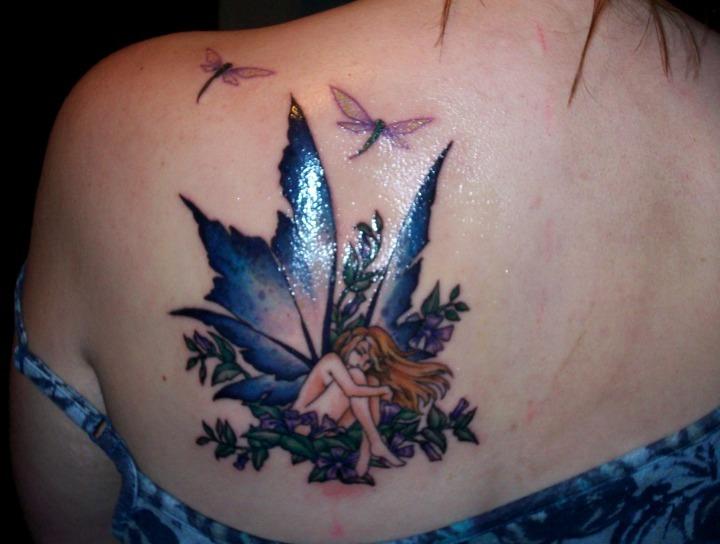21 Ideas De Tatuajes De Hadas De Hombremujer Fotossignificado