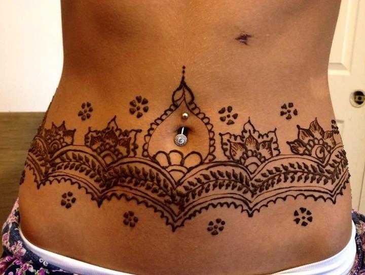 12 Ideas De Tatuajes De Henna De Hombremujer Fotossignificado