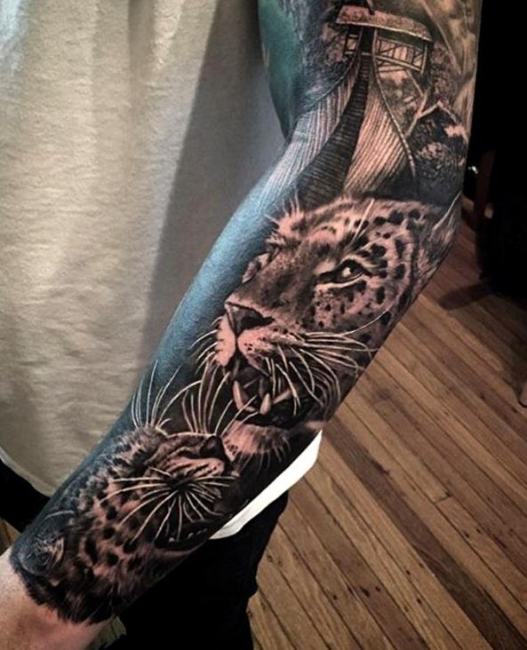 Tatuajes de jaguares