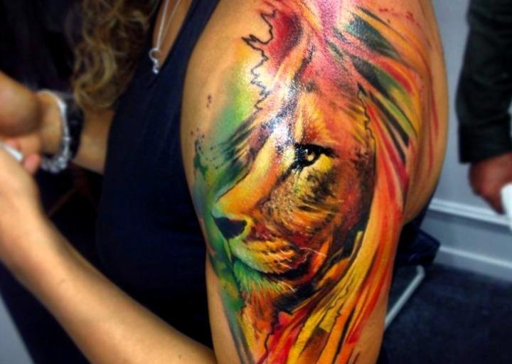 21 Ideas De Tatuajes De Leones De Hombre Mujer Fotos Significado