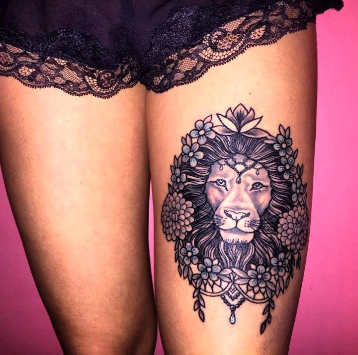 Que Significa El Tatuaje De Un Leon Sfb