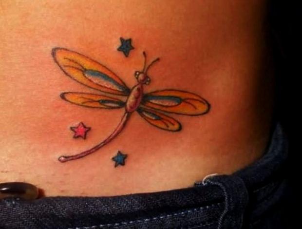 Tatuajes De Libelulas Para Mujer