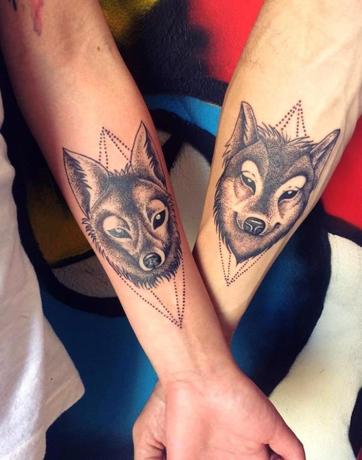 21 Ideas De Tatuajes De Lobos De Hombre Mujer Fotos Significado