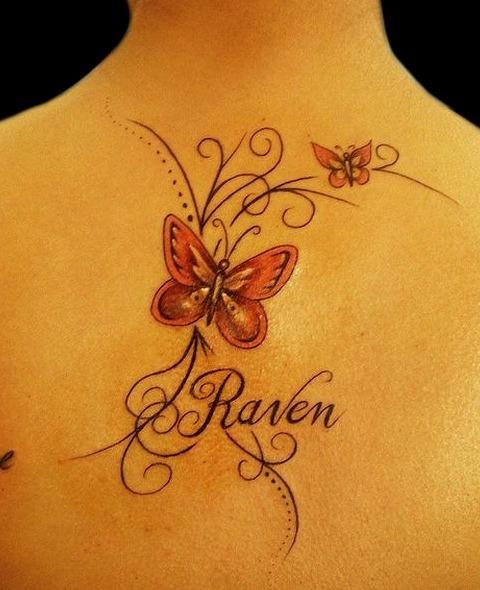Tatuajes de nombres para mujeres