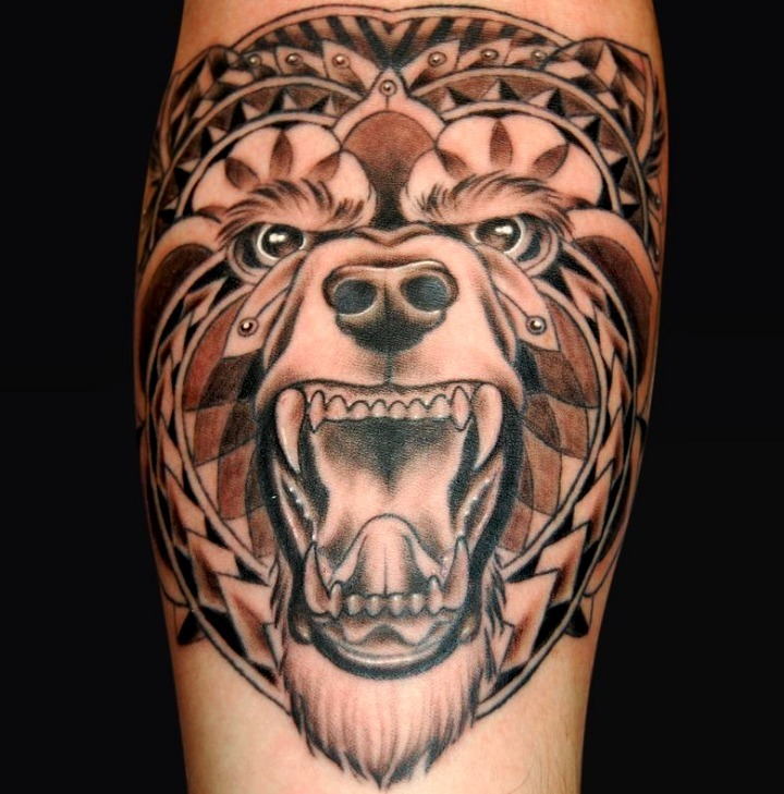 33 Ideas De Tatuajes De Osos De Hombremujer Fotossignificado
