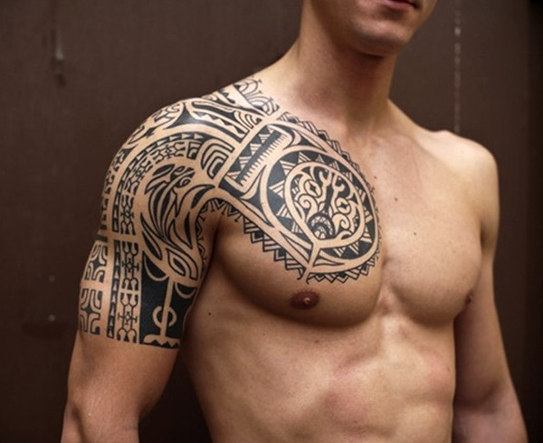 30 Ideas De Tatuajes En El Pecho De Hombre Mujer Significado