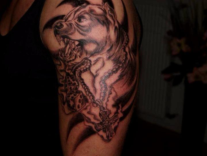 Tatuajes de pitbulls