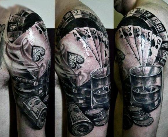 Tatuajes de póker