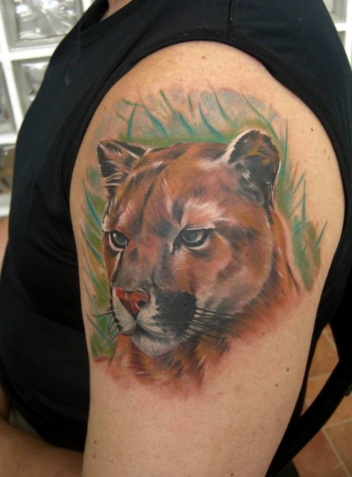 Tatuajes de pumas
