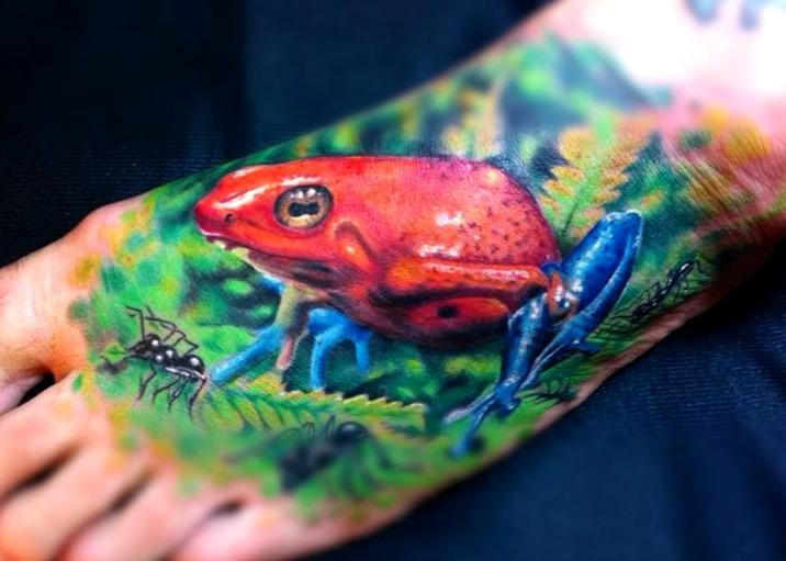 18 Ideas De Tatuajes De Ranas De Hombremujer Fotossignificado