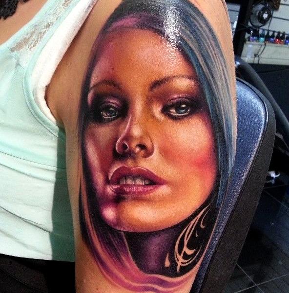 Tatuajes de rostros