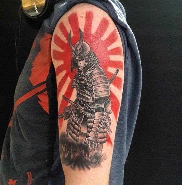 Tatuajes de samuráis japoneses