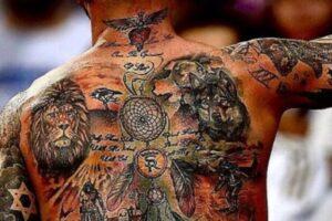 Tatuajes Sergio Ramos