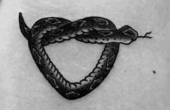 Tatuajes de serpientes pequeños
