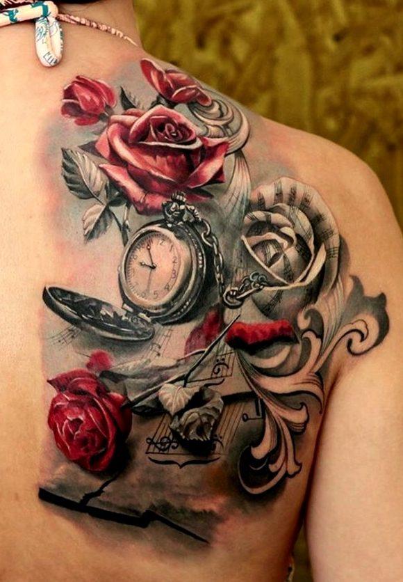 21 Ideas De Tatuajes De Relojes De Hombre Mujer Significado