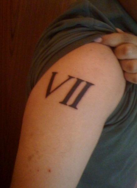 27 Ideas De Tatuajes De Números De Hombremujer Significado