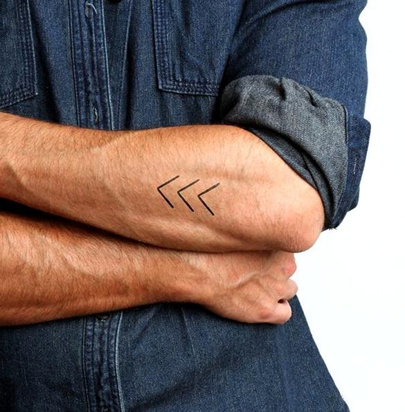 Tatuajes discretos y sencillos para hombres