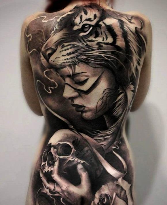 Tatuajes en 3D para mujeres