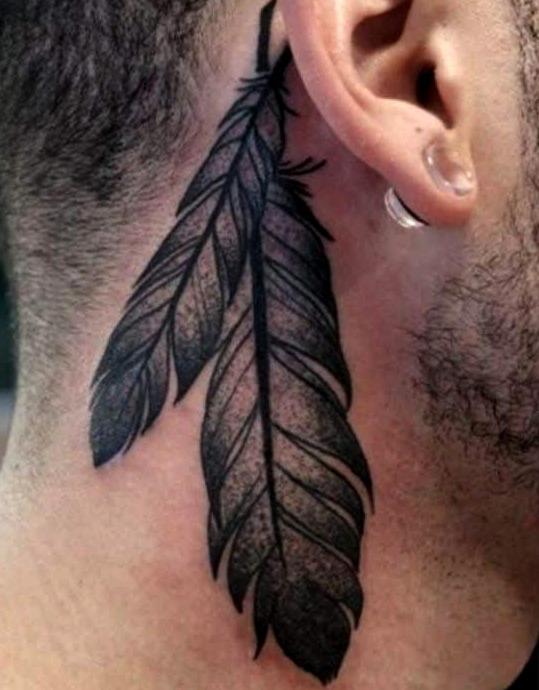 45 Ideas De Tatuajes En El Cuello Con Significado Hombre Mujer