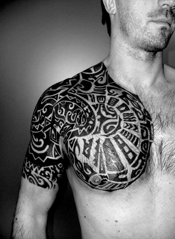Tatuajes en el hombro para hombres