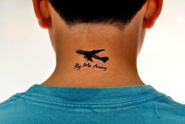 Tatuajes en la espalda pequeños