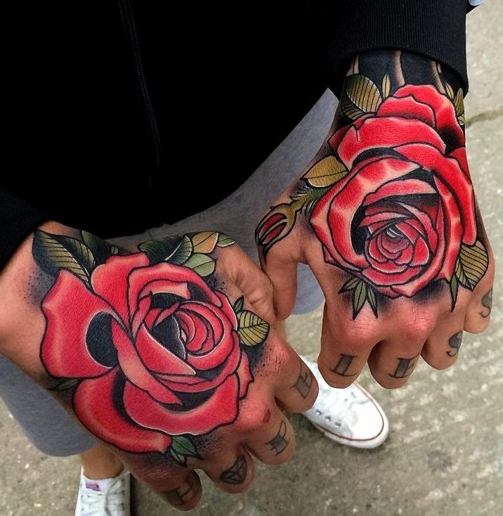 Tatuajes en la mano para hombres