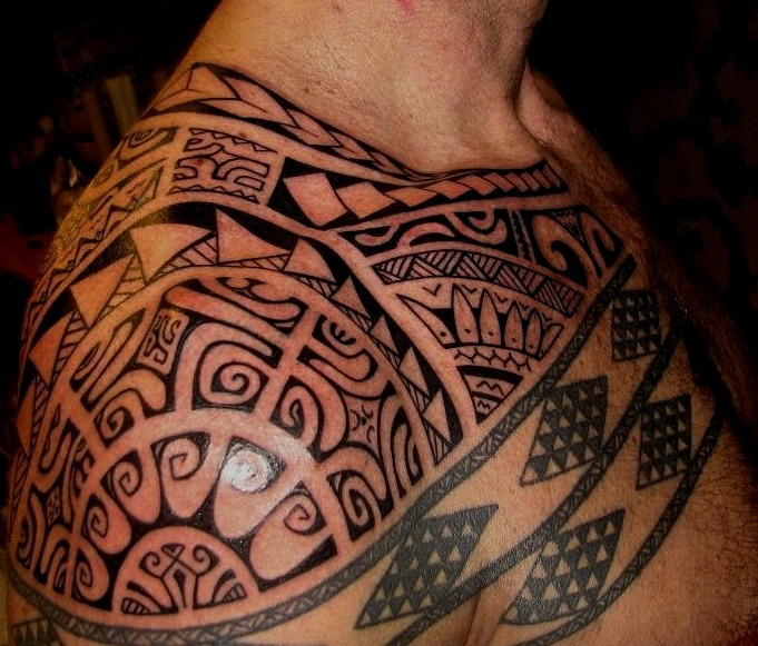 Tatuajes maoríes para hombres