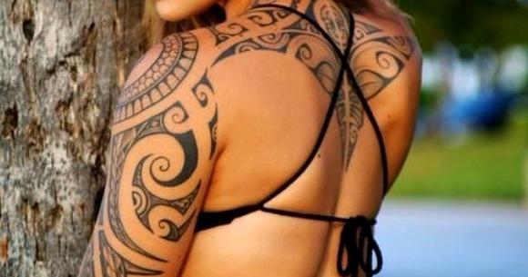 Tatuajes maoríes para mujeres