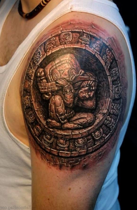 las 33 mejores ideas de tatuajes mayas y aztecas hombre y. Black Bedroom Furniture Sets. Home Design Ideas