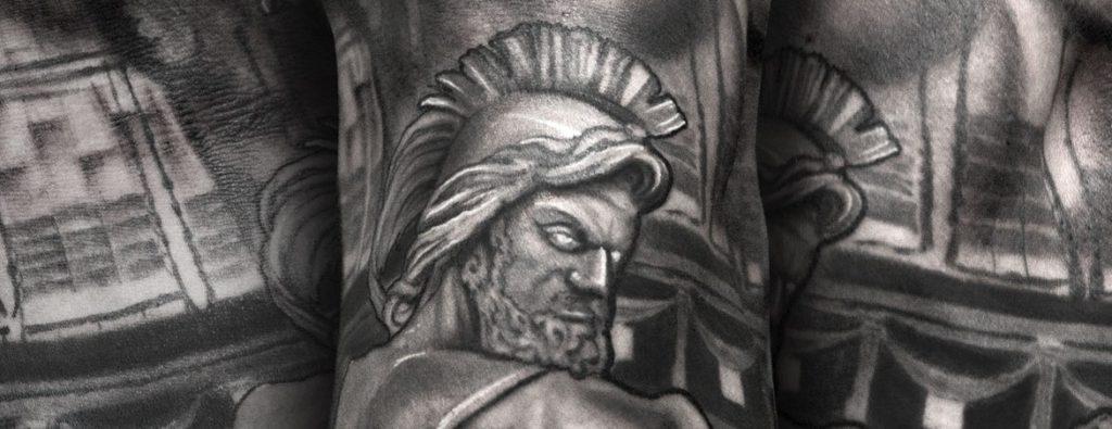 Tatuajes mitológicos y religiosos