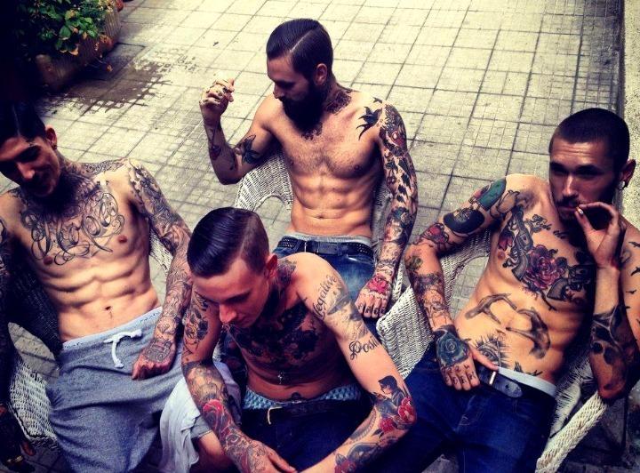 Tatuajes Old School para hombres