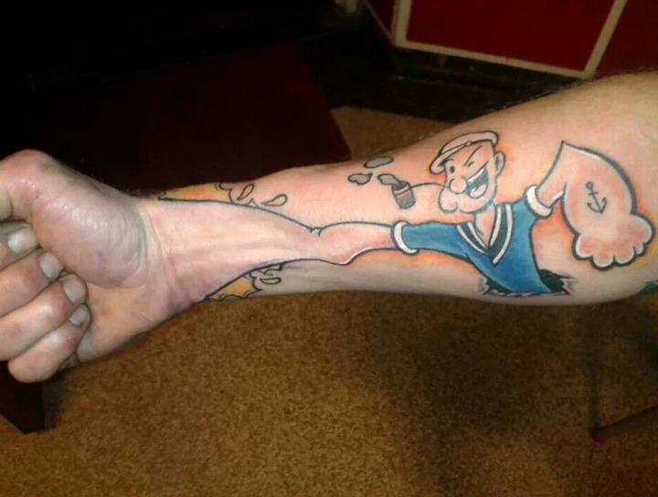 Tatuajes originales de hombre