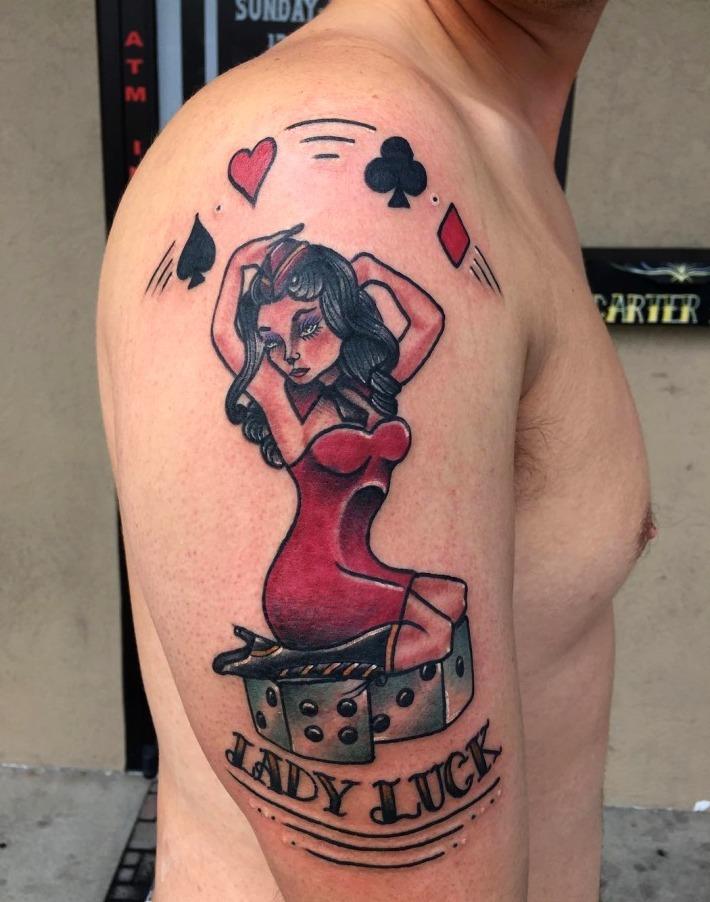 24 Ideas De Tatuajes Pin Up De Hombremujer Fotossignificado
