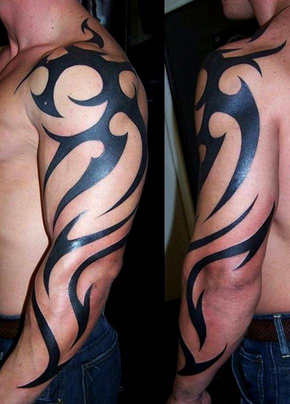 Tatuajes tribales para hombres